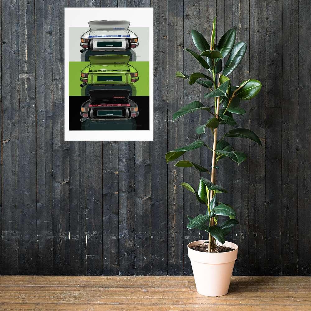 Carrera RS Print